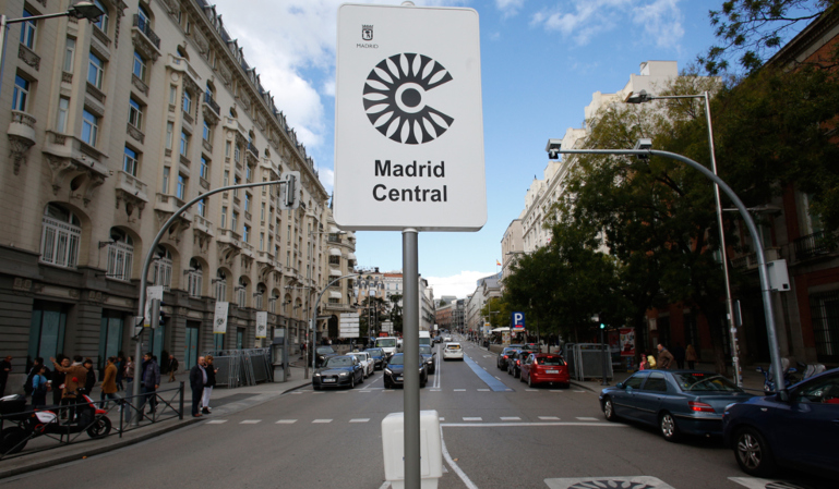 ¡28 multas anuladas de Madrid Central a un solo conductor!