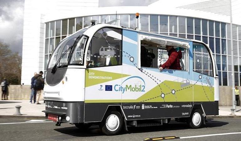 Autobuses sin conductor en San Sebastián