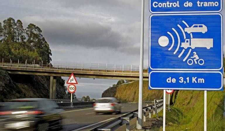 El radar de tramo de Madrid funcionará desde junio