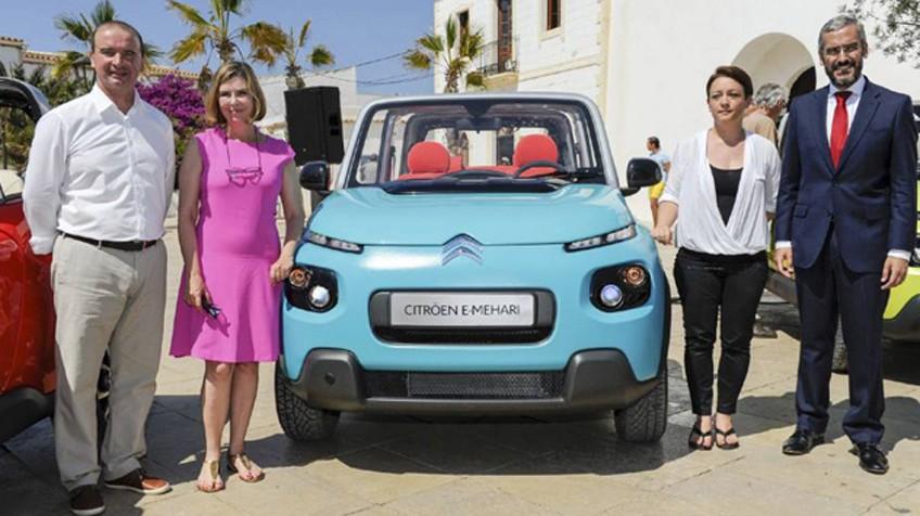 En Formentera sólo coches eléctricos
