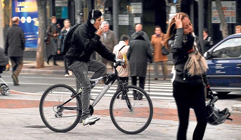 Las multas en bici son una realidad