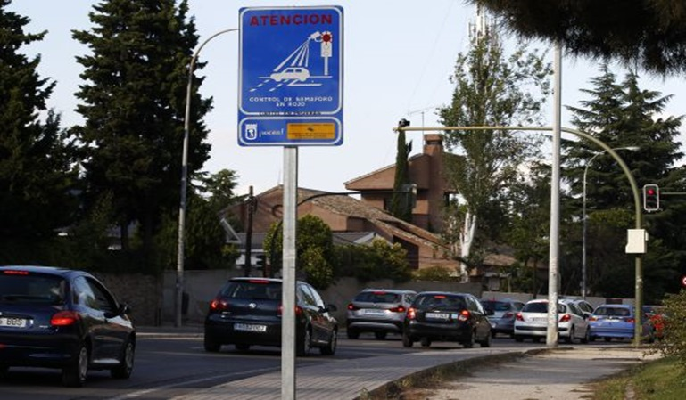 Las multas de tráfico por señales