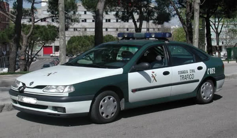 Sargento de la Guardia Civil borracho multado