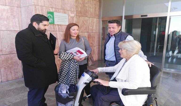 Multa a silla de ruedas en Málaga anulada