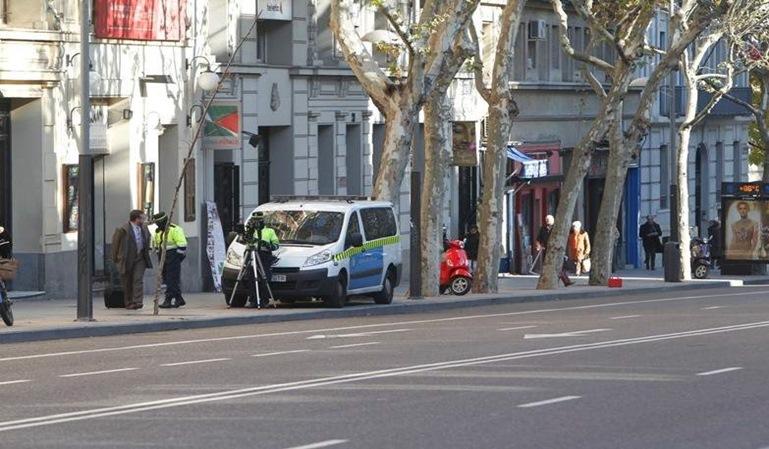 Los radares móviles aumentan en Madrid
