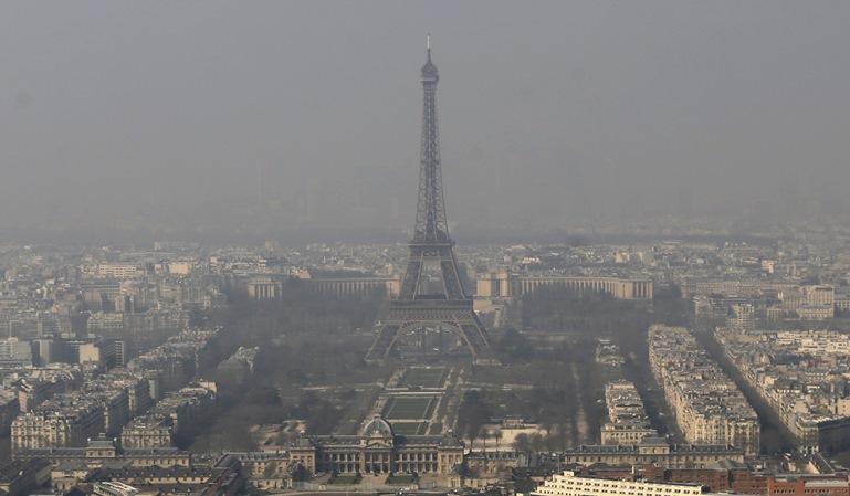 París restringe el tráfico por contaminación