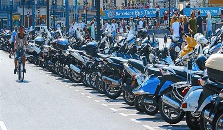 Barcelona es la ciudad con más motos