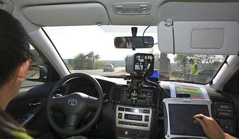 Radares en coches particulares