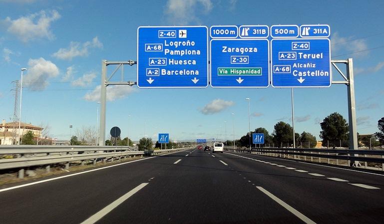 Madrid: carriles exprés en la A-2