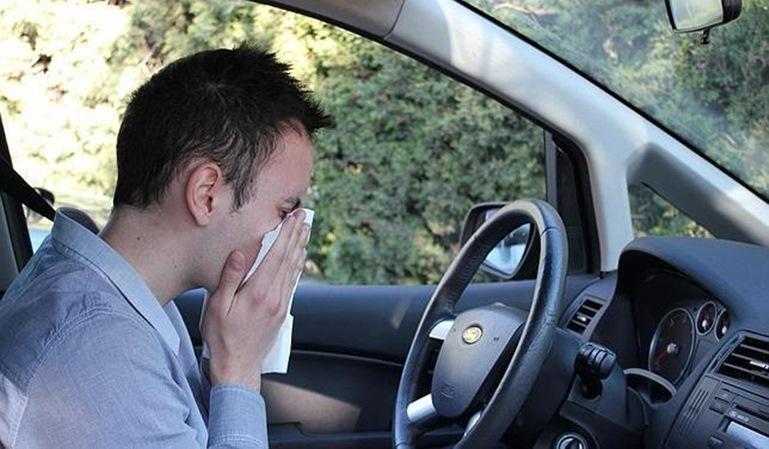 Trucos para conducir con alergia