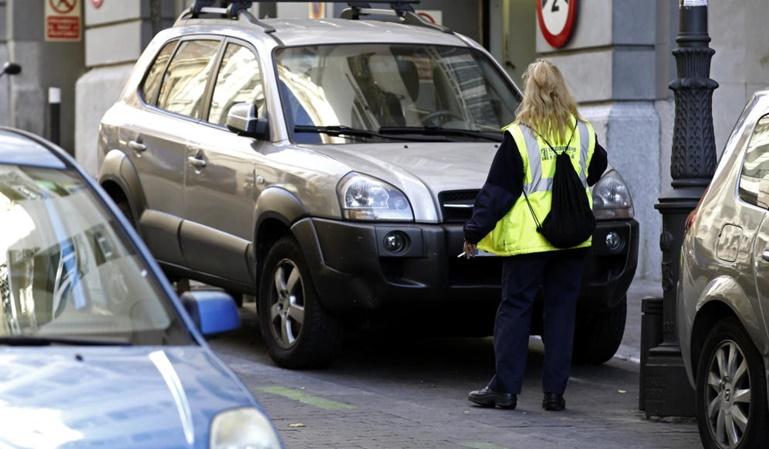 Se multiplican las multas en Madrid