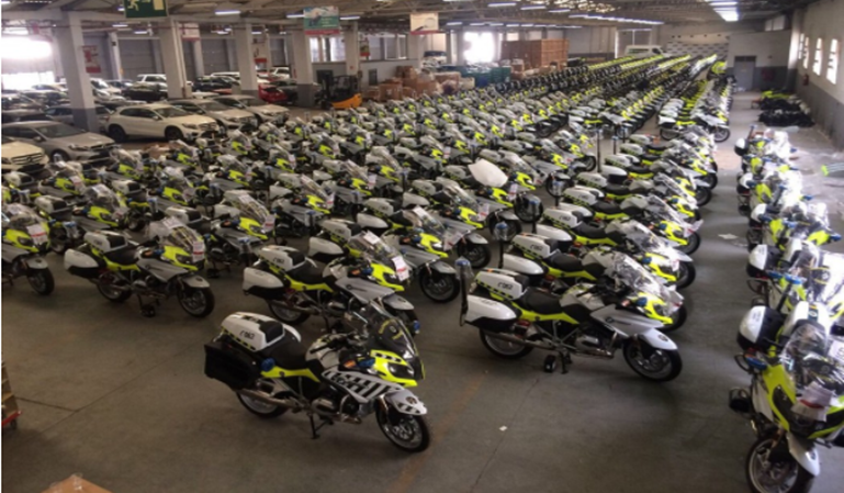 La DGT invierte 5 millones en 300 motos para controles