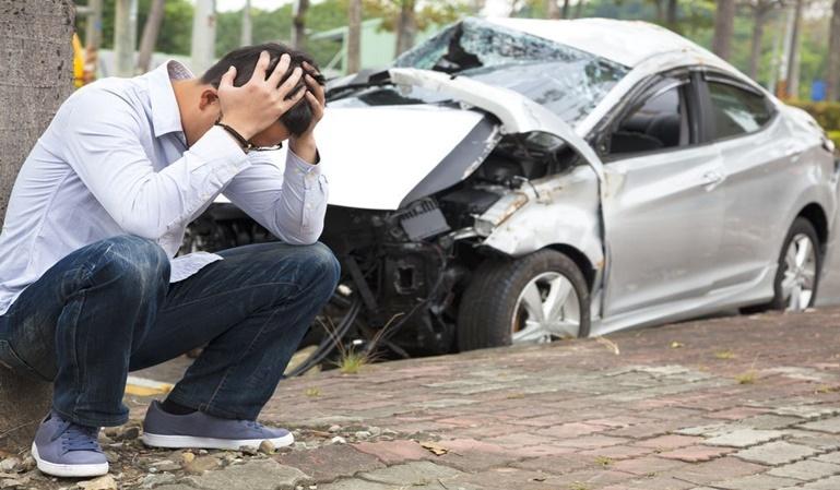 ¿Quién es el responsable en un accidente en cadena?