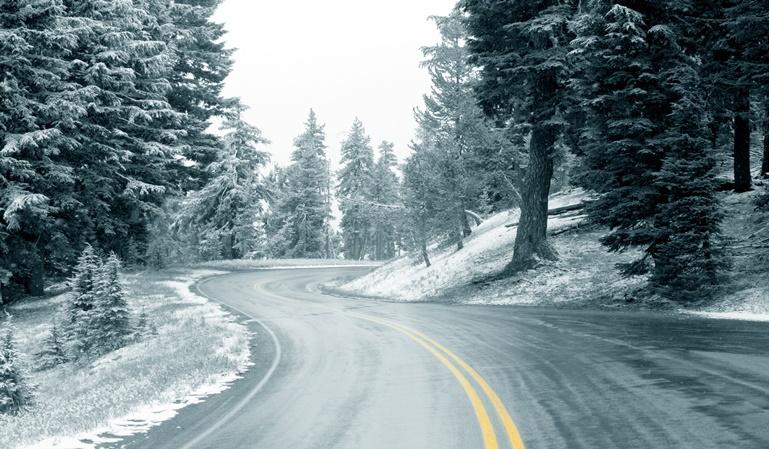 Los colores de alerta por nieve