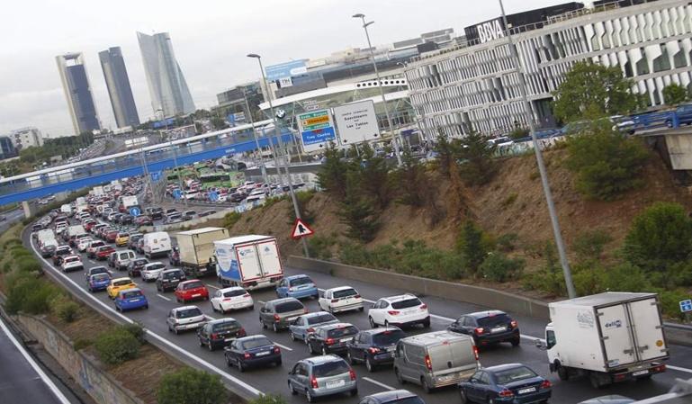 8.097 multas al día en Madrid