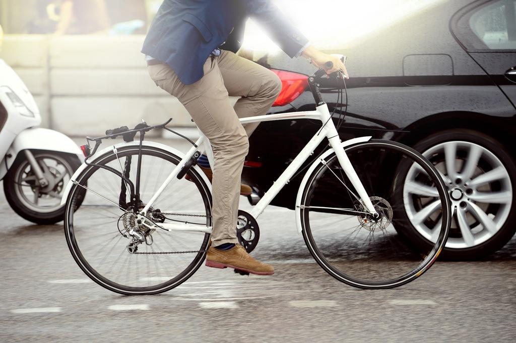 Cómo circular en bicicleta