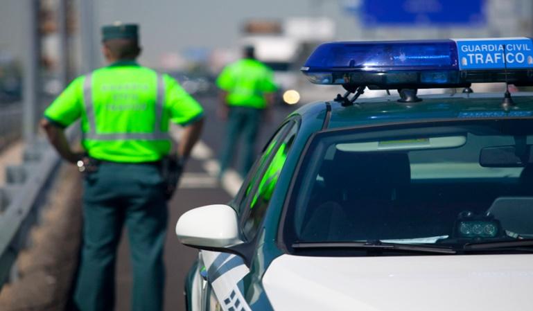 1.830 fallecidos en accidentes de tráfico en 2017