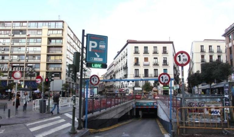 Nueva tarjeta para los aparcamientos de Madrid Central