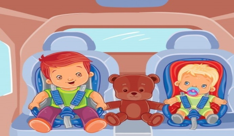 Control de vigilancia de cinturones y retención infantil