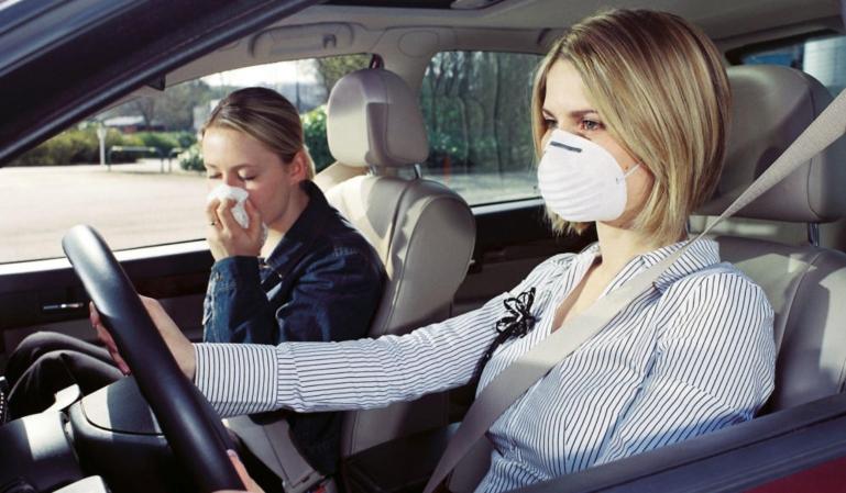 La alergia en los conductores