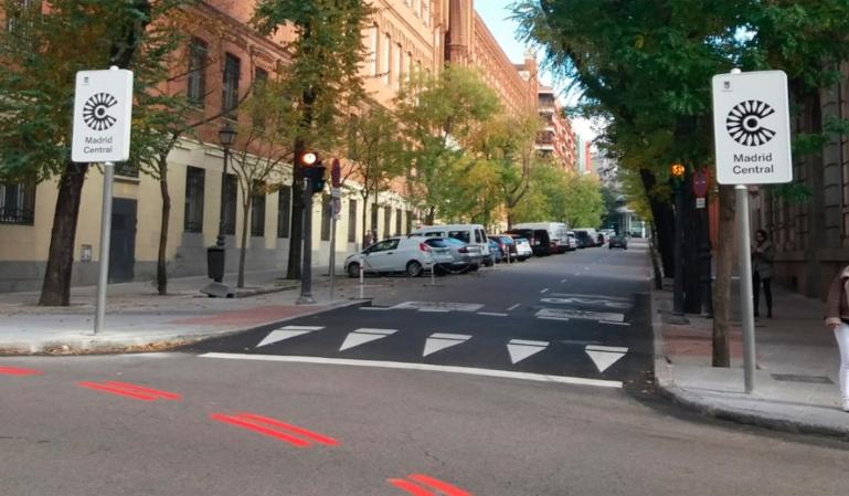 La Calle Mártires de Alcalá, es la que más multas registra de Madrid Central
