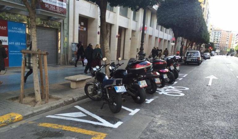 Nueva normativa en Valencia para las motos