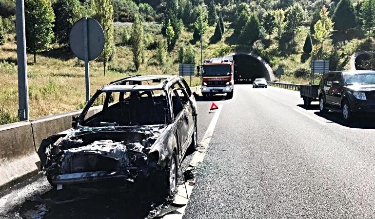 Causas por las que se incendia un coche en un accidente