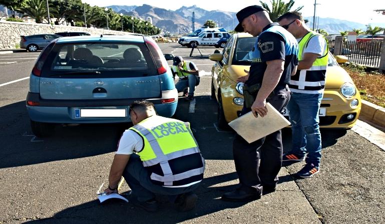 ¿Cuándo es necesaria la presencia policial en caso de accidente?