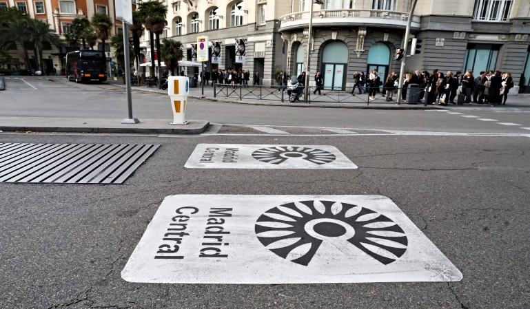 Madrid Central: Restricciones a partir de enero al transporte profesional