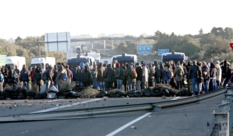 Cómo afecta la situación en Cataluña al transporte profesional