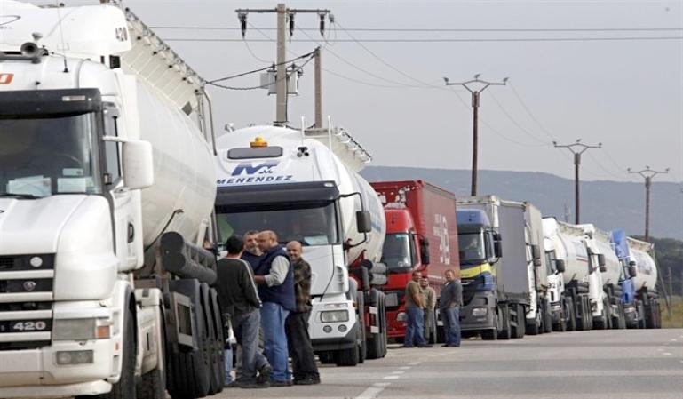 Próxima huelga en el sector del transporte profesional