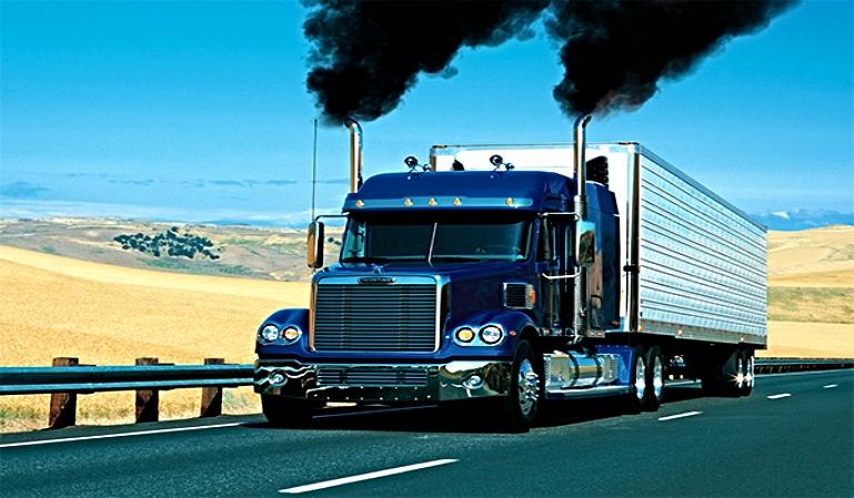 Las emisiones en los motores de los camiones se reducirán en 2022