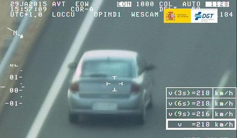 Stop a las multas por exceso de velocidad
