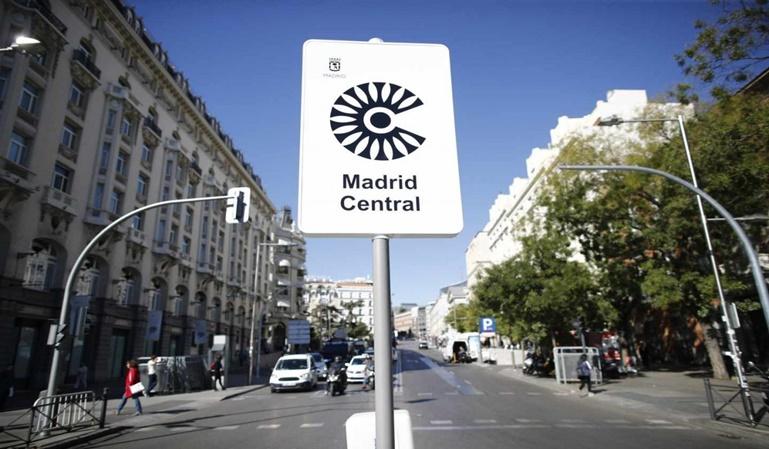 Multa de Madrid Central anulada