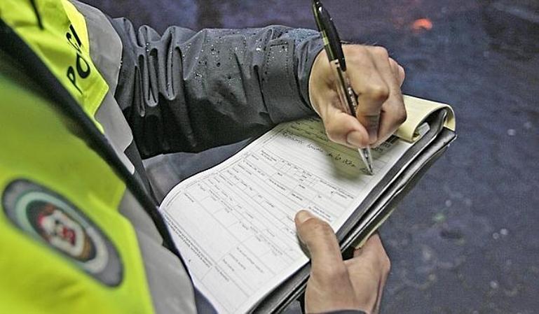 Gestión de una sanción de tráfico sin descuento y con recargo
