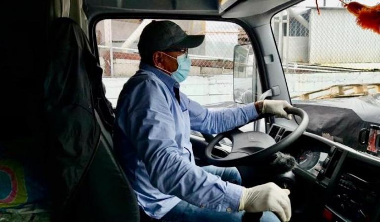 Sector del transporte profesional: los efectos de la pandemia