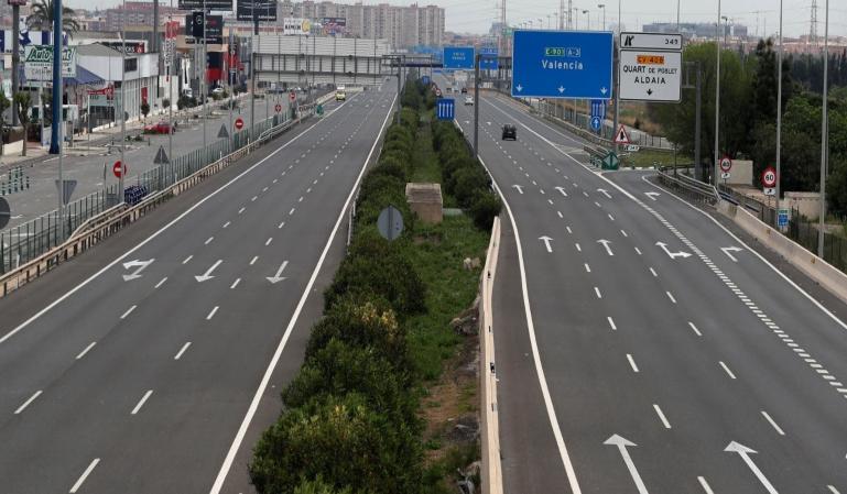 Los datos más significativos sobre tráfico durante el estado de alarma
