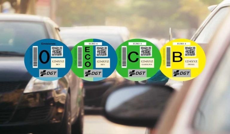 Nuevas etiquetas medioambientales para los vehículos