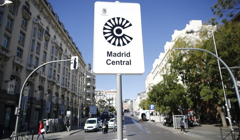 Un juzgado anula Madrid Central
