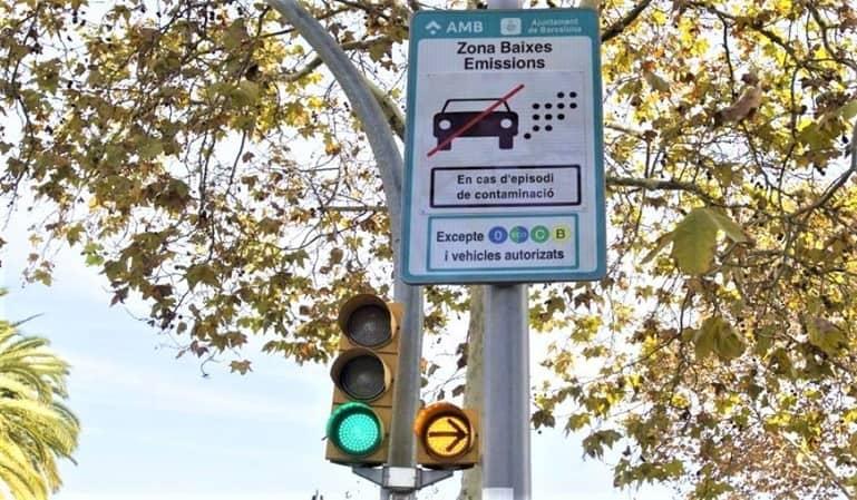La Zona de Bajas Emisiones de Barcelona, en marcha