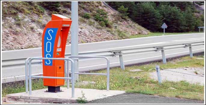 El adiós de los postes SOS de nuestras carreteras