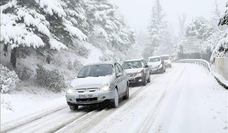Cómo conducir seguro con nieve