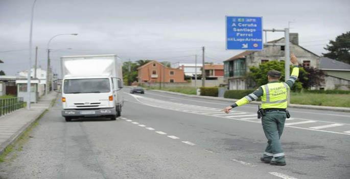 Cajas negras por tacógrafos en camiones en el aire