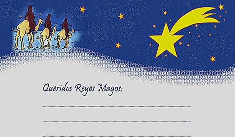 Carta de un conductor a los Reyes Magos