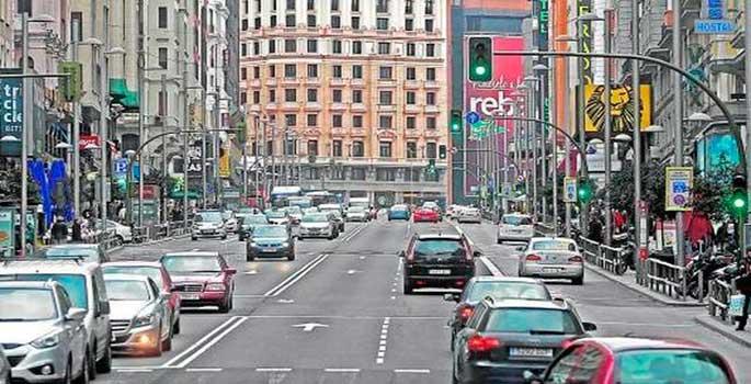 El cierre del tráfico del centro de Madrid pendiente del voto