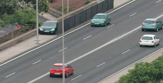 La primera condena para un conductor que hacía fotos a un radar escondido