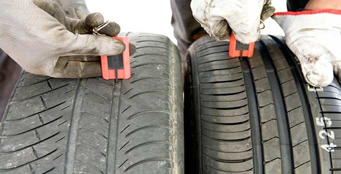 DGT revisa finalmente los neumáticos en campaña