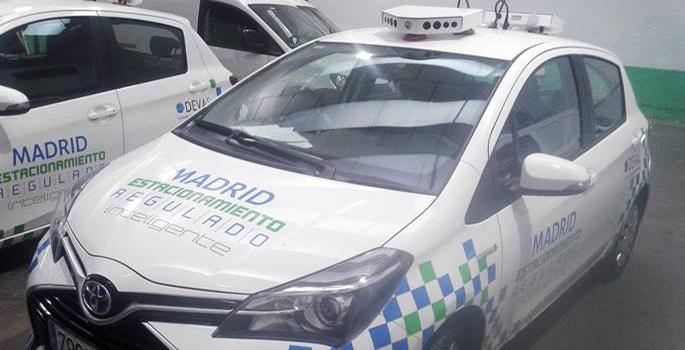 Los vehículos con cámara que ayudan a los controladores a multar en Madrid