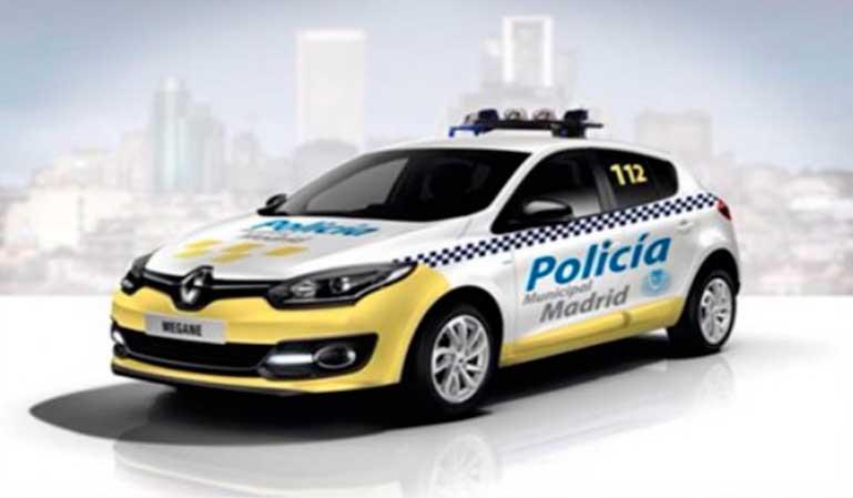 Madrid quiere cambiar el color de coches de policía