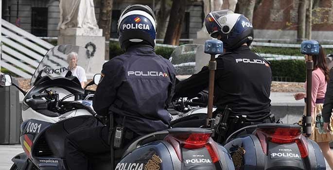 Las nuevas 'motomultas' de Madrid para sancionar los malos aparcamientos